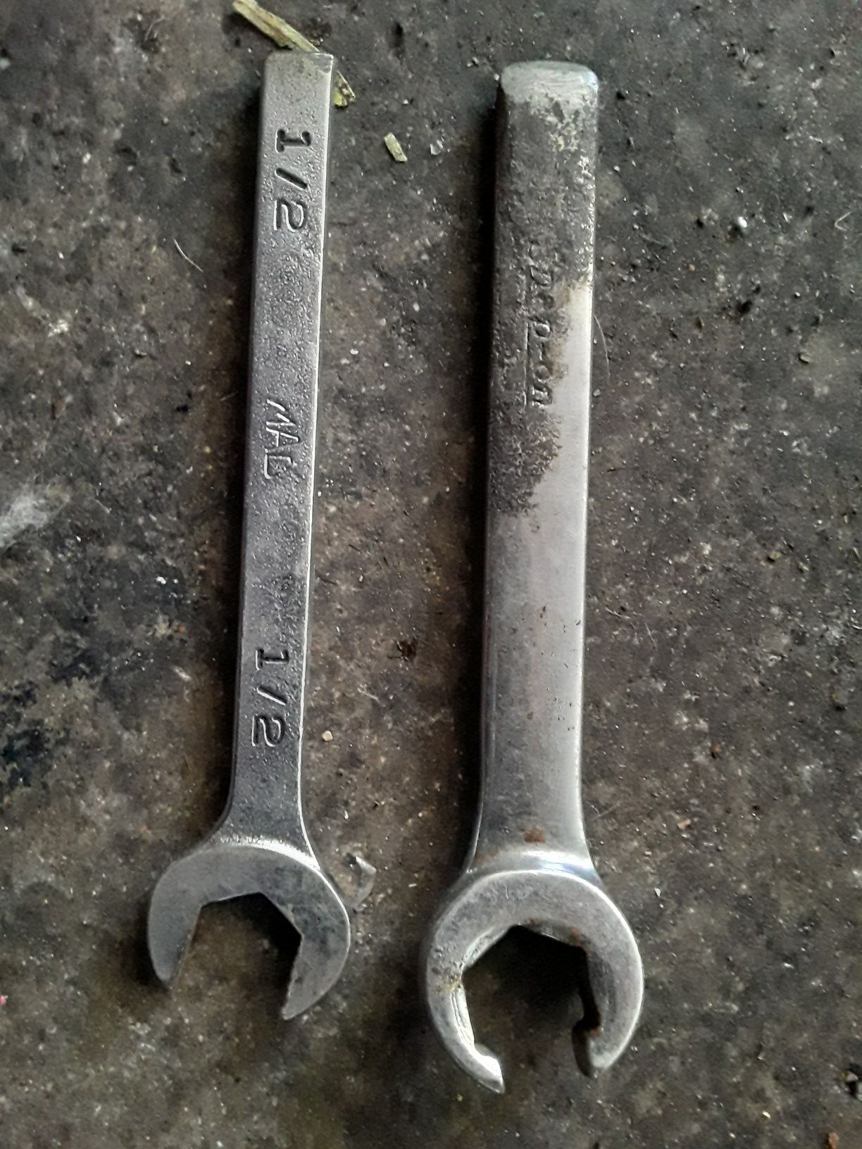 Snap-On and Mac Broken Wrenches