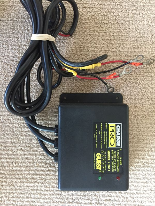 Marine Battery Charger Guest Model 2611