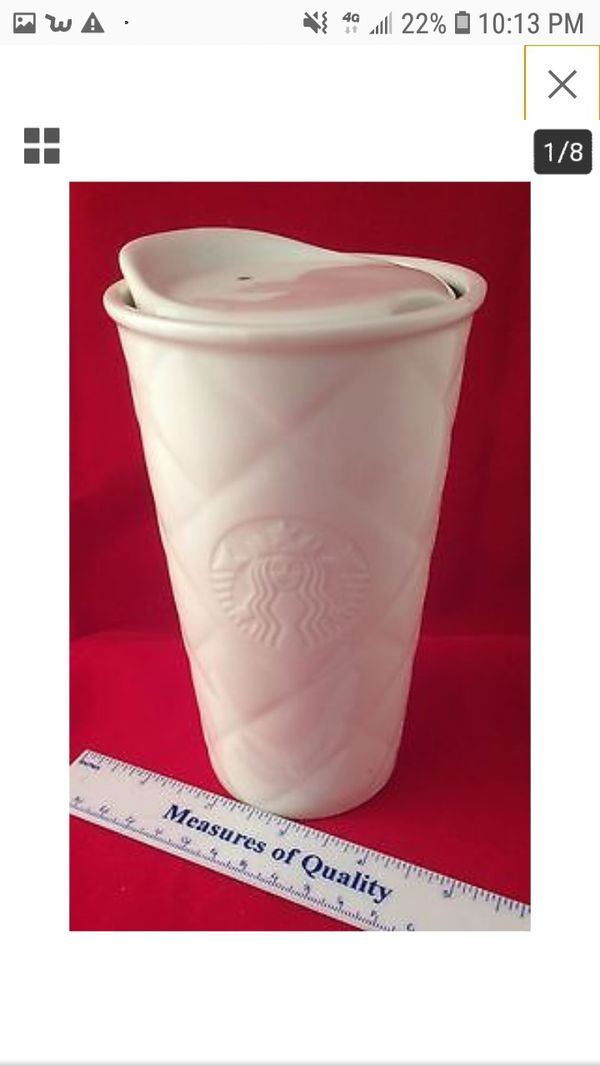 In 2018 Quilted Mug Ceramic Starbucks Best White Travel wk0OPn