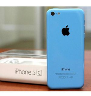 IPhone5C  Factory Unlocked + box and accessories + 30 day warranty for Sale in Alexandria, VA