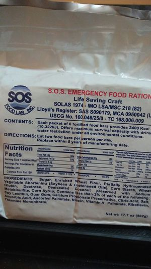 4 SOS Emergency Food Ration Packs for Sale in Herndon, VA