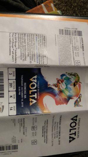 Cirque De Soleil Tickets for Sale in Renton, WA