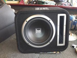 Photo Dual 10 inch subwoofer