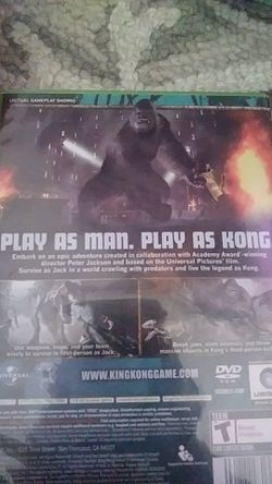King kong the offical game of the movie Thumbnail