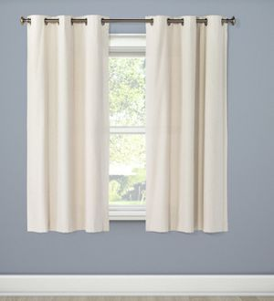 "Cream blackout curtains 63"" x 42"" - four curtain panels for Sale in Washington, DC"