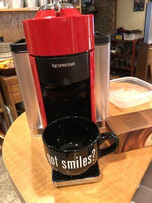 Photo Nespresso Vertuo $100 in accessories Included