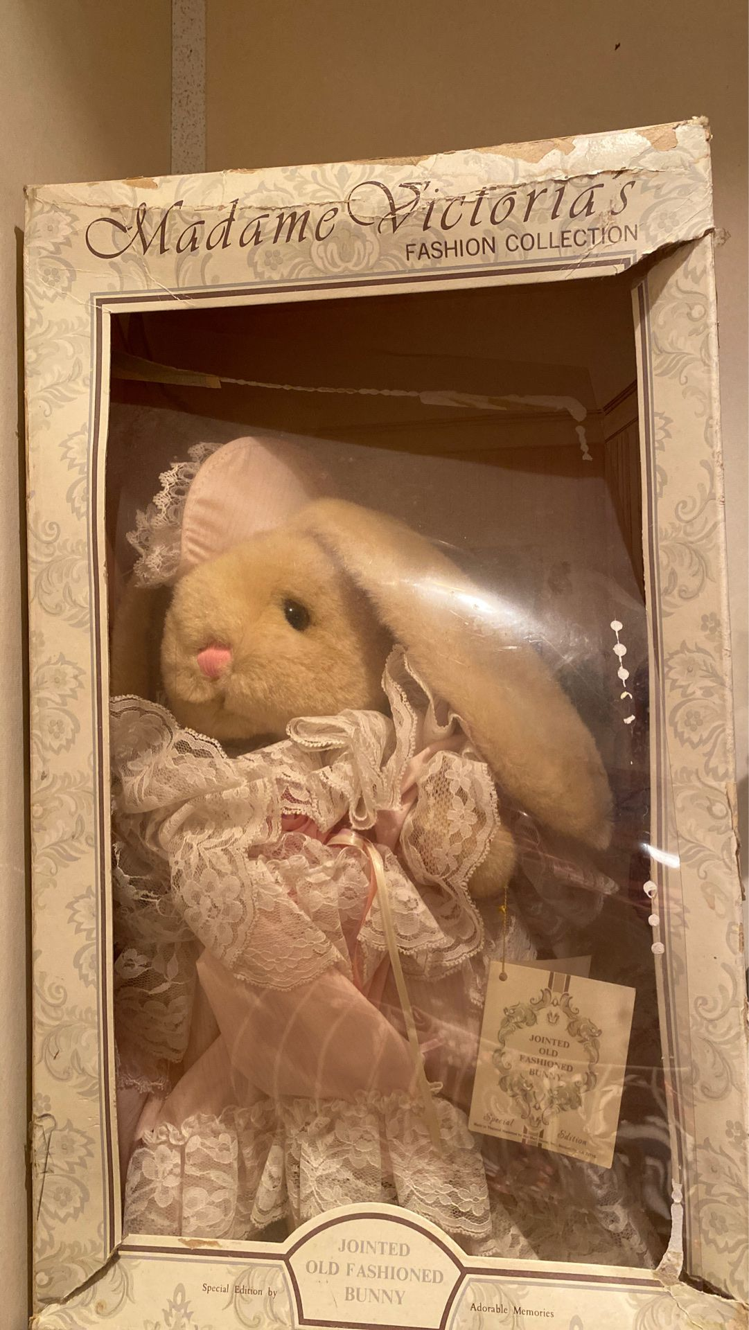Madame Victoria's Jointed Old Fashion Bunny
