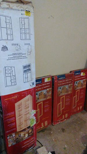 ClosetMaid Storage Cabinet and Add on Doors in box brand new, used for sale  Tulsa, OK