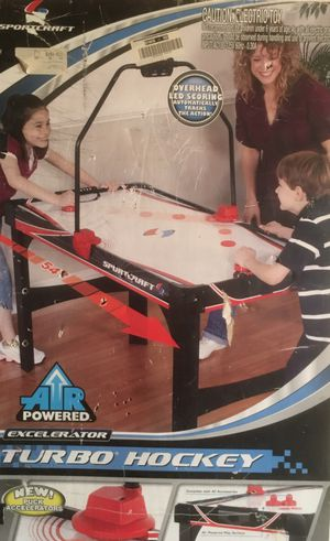 "Air Hockey Table New In Box $50 Sport Craft 54"" for Sale in Victorville, CA"
