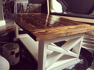 FARMHOUSE COFFEE TABLE for Sale in MIDDLE CITY EAST, PA