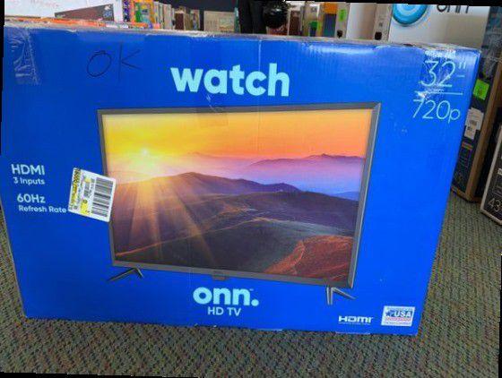 """ONN 32"""" Brand new TV! Open Box w/ warranty"""