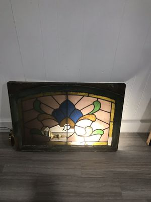 Stained glass transom window for Sale in Sappington, MO