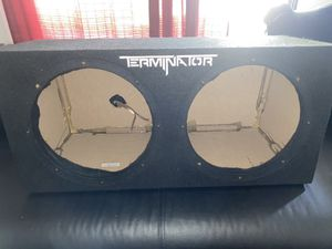 "Photo Terminator box dual 12"" enclosure"