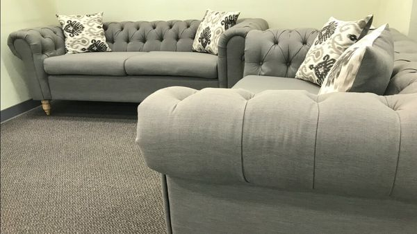 Grey Sofa Set For Sale In Fresno Ca Offerup
