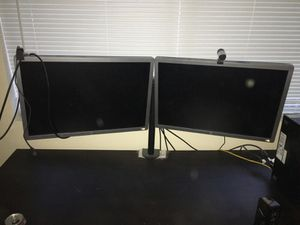 """24"""" HP MONITORS AND STAND for Sale in Renton, WA"""