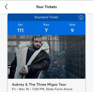 Drake Tonight for Sale in Atlanta, GA