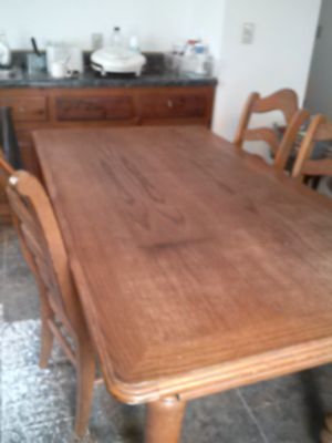 Table and 6 chairs for Sale in Gladstone, VA