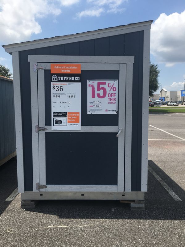 Tuff Shed 6 X 10 Lean To At Home Depot For Sale In Broussard La