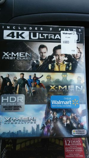 X-Men 3 film collection 4K for Sale in Dallas, TX
