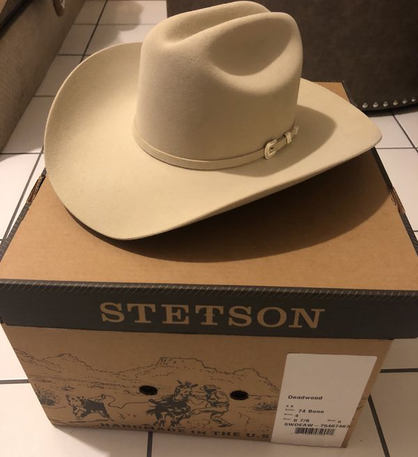 Stetson deadwood bone 4x for sale in san diego ca offerup for Used jewelry san diego