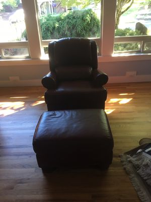 Enjoyable New And Used Chair With Ottoman For Sale In Portland Or Unemploymentrelief Wooden Chair Designs For Living Room Unemploymentrelieforg