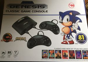 Brand new sega game console with 81 built in games for Sale in Washington, DC