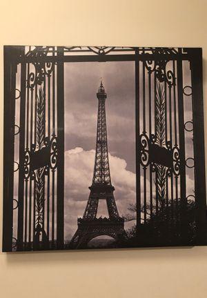 Paris canvas picture for Sale in Washington, DC