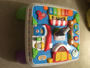 Fisher Price Laugh & Learn Around Town Learning Table for Sale in Great Falls, VA