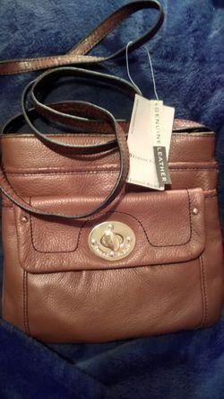 Etienne aigner genuine leather Small shoulder bag Thumbnail