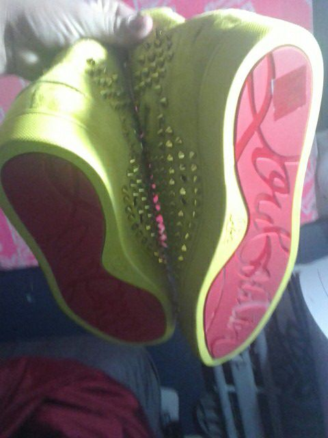 ea1d28fc8c0 Christian louboutin RED BOTTOMS MEN MIMOSA SPIKES for Sale in La Mesa, CA -  OfferUp