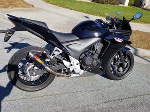 Photo 2013 Honda CBR500R 3.6K miles, Clean title, Ready to ride.