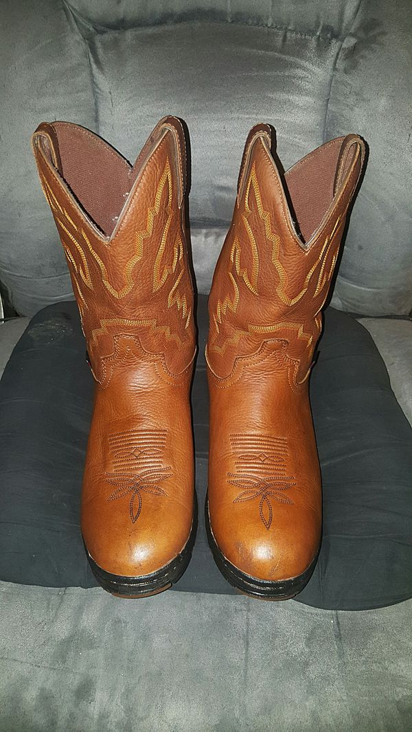 d9064447e20 Justin Boots Men's George Strait Twang Waterproof Cowboy Work Boots - Round  Toe for Sale in Lawrenceville, GA - OfferUp