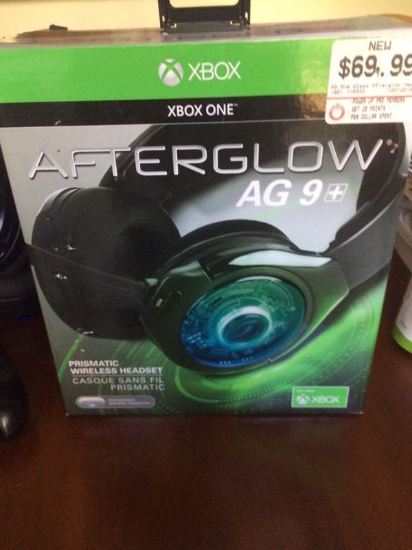 Afterglow Wireless Led Headset For Xbox One And Pc For Sale In