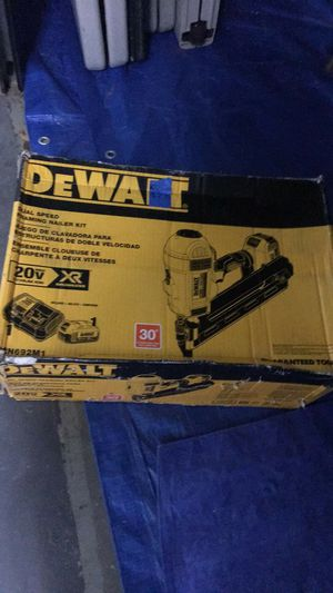 Brand New DeWalt 20v framing nail gun for Sale in Baltimore, MD
