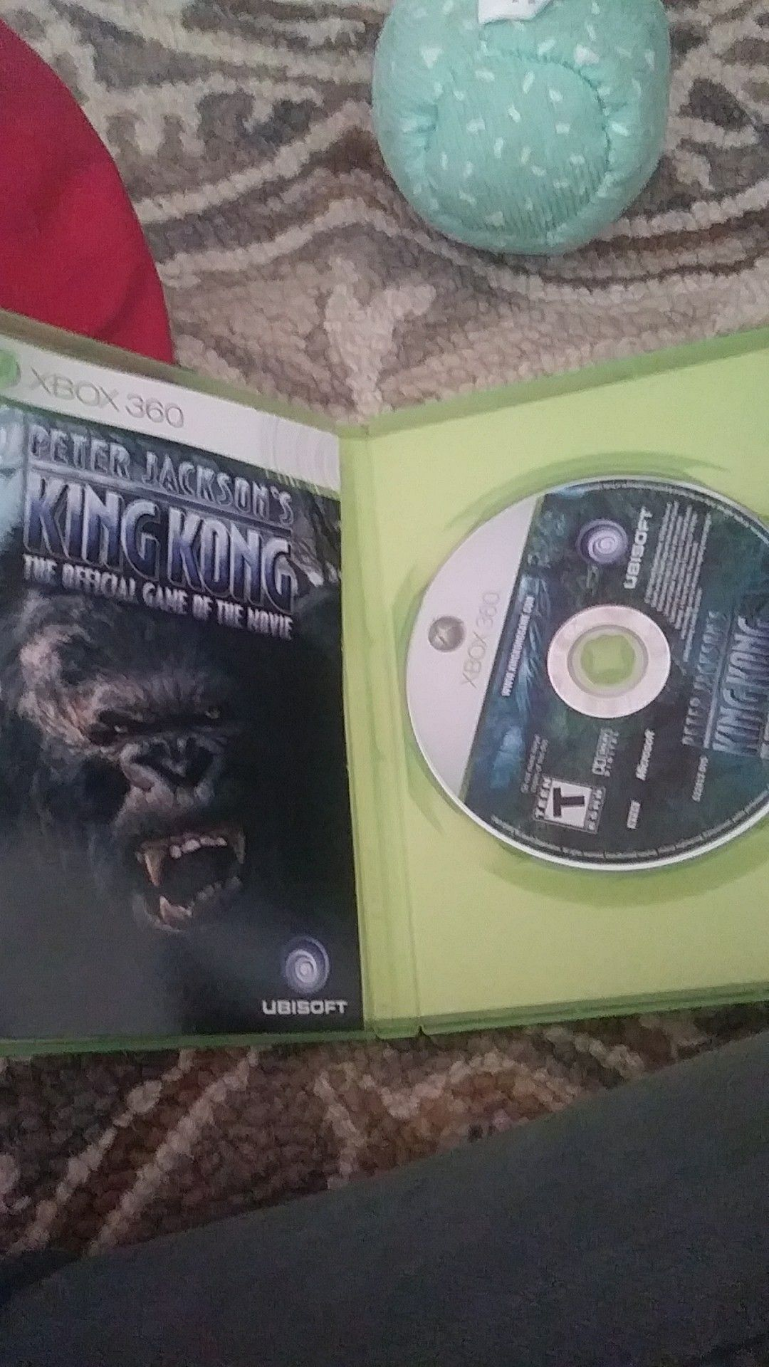 King kong the offical game of the movie