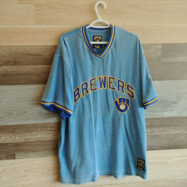 new style efb68 a9792 Milwaukee Brewers baseball Jersey for Sale in San Leandro, CA - OfferUp