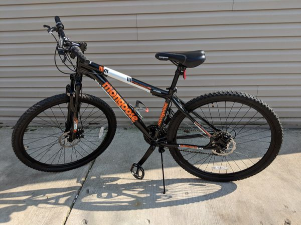 29 Quot Mongoose Impasse Hd Men S Mountain Bike Black Orange