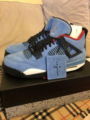cf0121031e0372 Air Jordan 4 Retro Travis Scott Cactus Jack men s size 9.5 for Sale in  Berkeley
