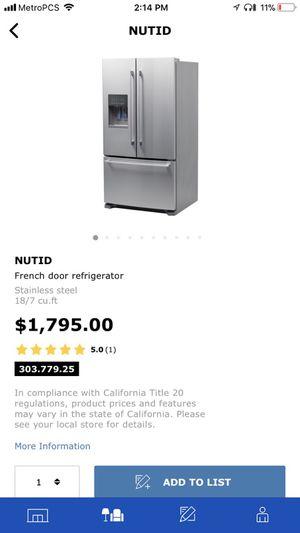 French door refrigerator for Sale in Beltsville, MD