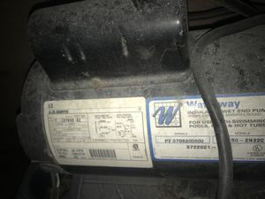 Spa pump used works for Sale in Fontana, CA