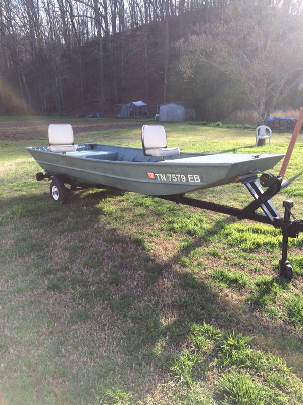 14 Foot Jon Boat And Trailer For Sale In Duffield Va Offerup