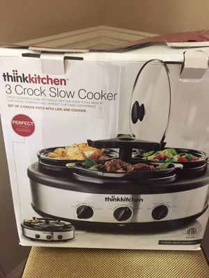 Think kitchen crock cooker for Sale in Creedmoor, NC