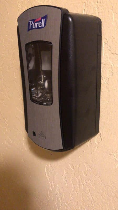 Brand New Purell Hand Sanitizer Wall Automatic Dispenser Machine For Sale In South San Francisco