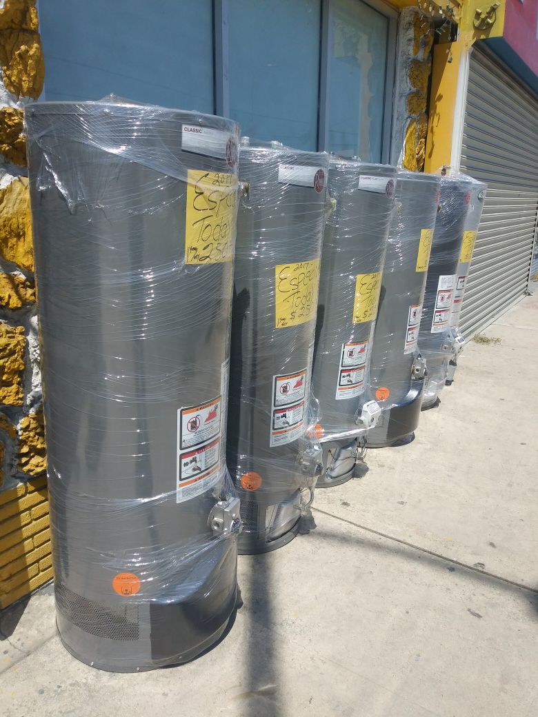 30-40-30-50-38-gallon water heater staring 200 and 240 and 180 and 190 and 170 and 150