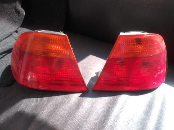 2002 To 2005 Bmw 325i Tail Light