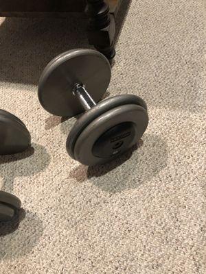 Two 40 lb dumbbells for Sale in Manassas, VA
