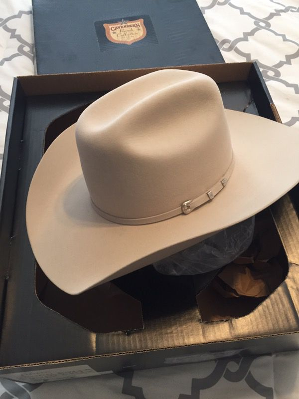 b3101e6dd189c 5X Silver Belly cowboy hat for Sale in Brenham