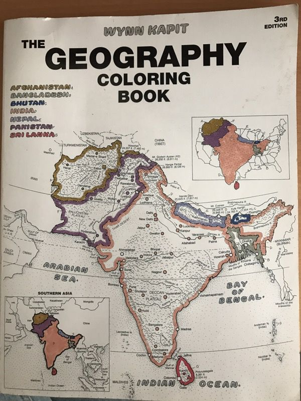 The Geography Coloring Book for Sale in National City, CA - OfferUp
