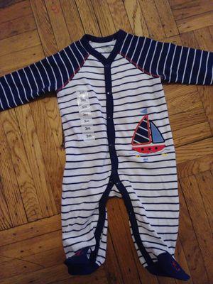 Little be 3 months stripe sailboat sleepwear for Sale in Bronx, NY