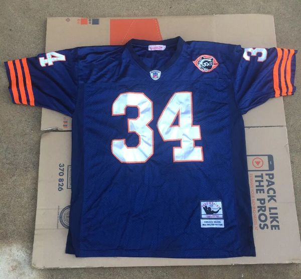best service c29d9 b1fa7 Mitchell & Ness Walter Payton #34 Authentic Throwback Jersey Size 52 for  Sale in Bakersfield, CA - OfferUp